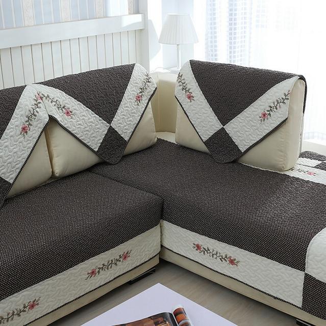 Fundas Sofa Modernos Telas Por Metros Para Sofas Cotton Quilted Sofa
