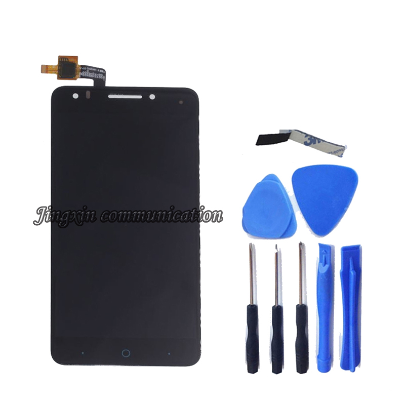 Image 2 - For ZTE Blade A570 LCD Display + Touch Screen Digitizer Assembly Replacement 100% Original Tested Free shipping+tools-in Mobile Phone LCD Screens from Cellphones & Telecommunications
