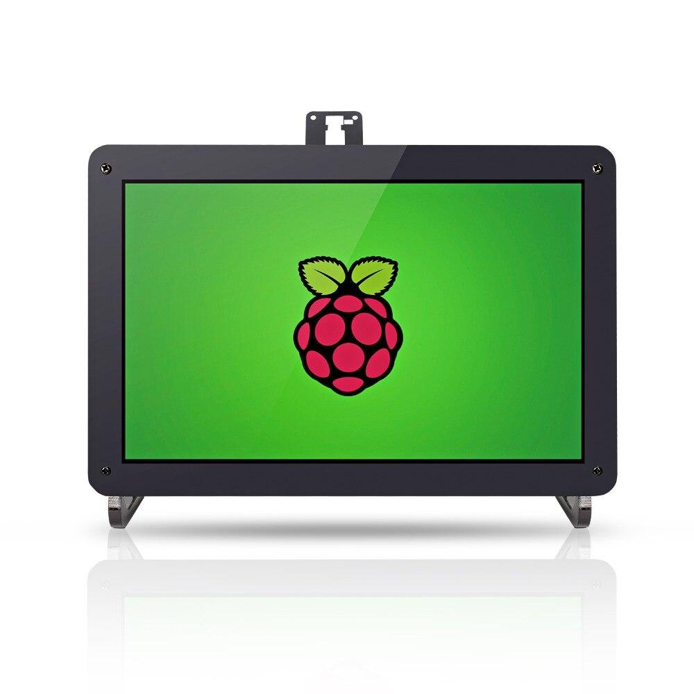 Sunfounder 10.1 pollice HDMI IPS Monitor LCD Display Ad Alta Risoluzione 1280*800 Della Macchina Fotografica Del Supporto Del Basamento per Raspberry Pi 3 modello B, 2B, 1B +-in Accessori per scheda demo da Computer e ufficio su  Gruppo 1