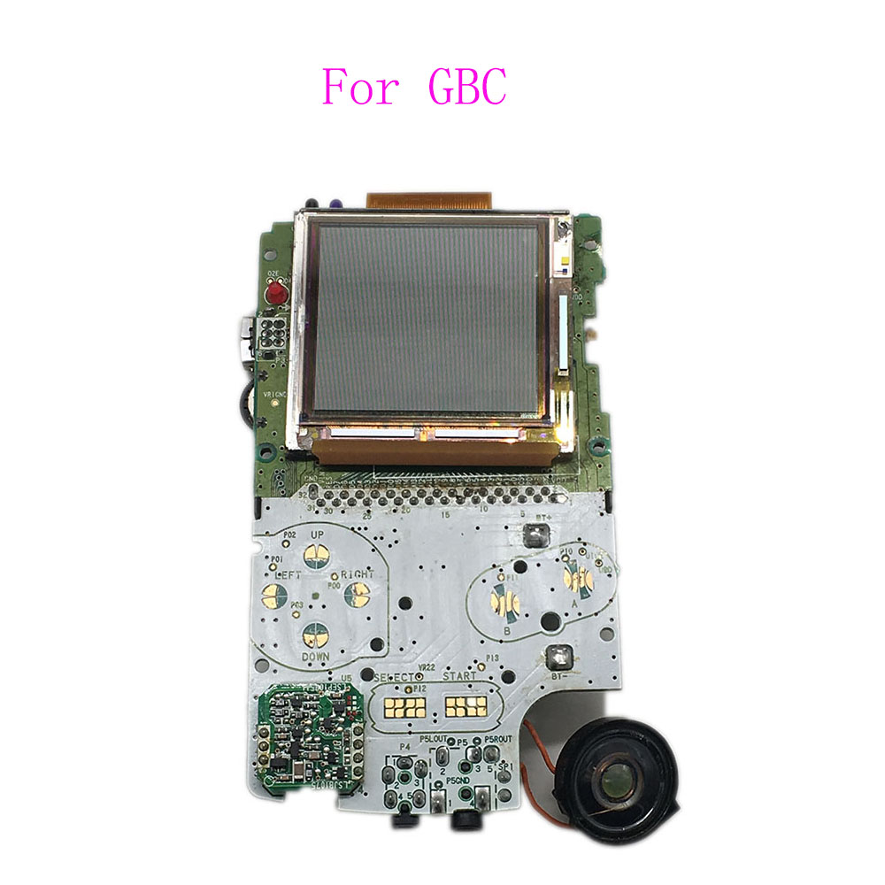 Game boy color online free - 5pcs Original Pulled For Gameboy Color Lcd Displays Screens W Speaker For Gbc Motherboard