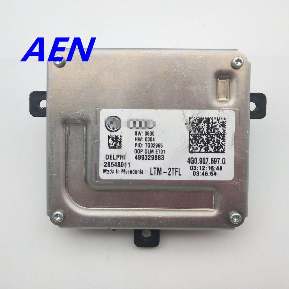 Original 4G0.907.697.G LED Driver Module Xenon Headlights Follower Controller LED Driver LTM 2TFL For Audi Alhambra 4G0907697G