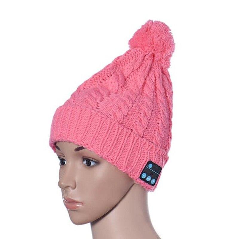 Winter Unisex Soft Warm Beanie Hat Women Wireless Bluetooth Smart Cap Fashion Headset Headphone Speaker Mic Bluetooth Hat Dec26 bosch 2607019449