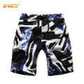 VICVIK Board Beach Shorts For Boys Summer Casual Swimsuit Wear Kids Surf Sea Waves Sport Clothing Children Surf Shorts D03X30