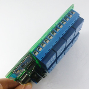 Image 2 - DC 12V 8 Channel Android Phone Bluetooth Control Relay Module for Smart Home LED Lighting system