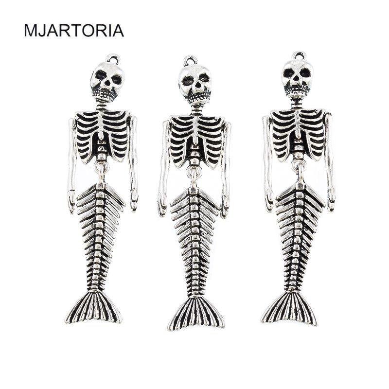 MJARTORIA 5 Stücke Menschliches Skelett Körper Geformt Anhänger Fit ...