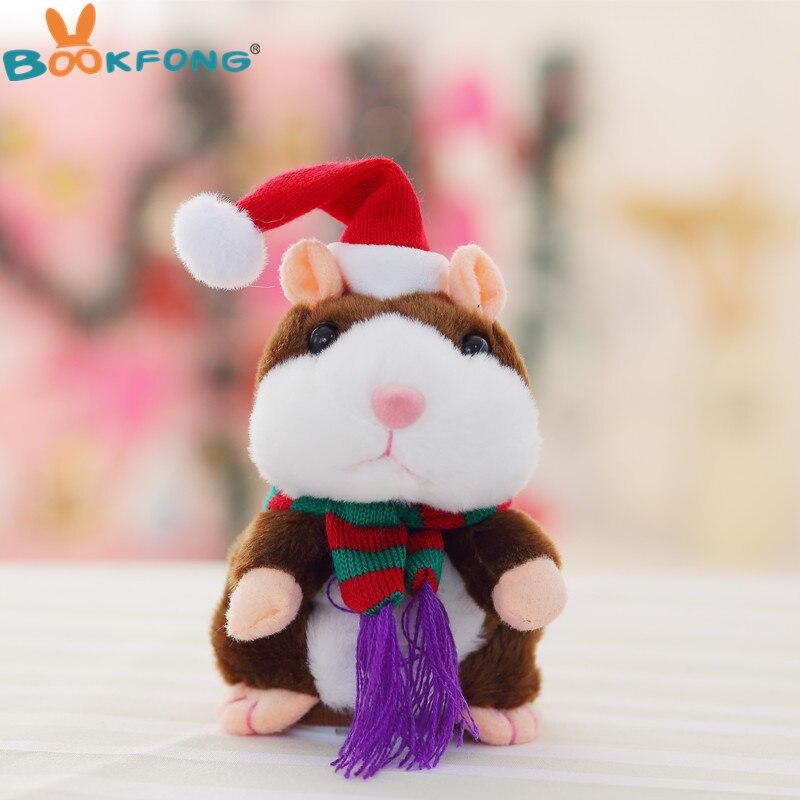 Weihnachten Reden Hamster Plüsch Puppe Interaktive Sprachnotiz ...