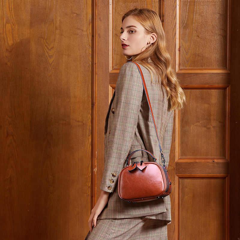 DIENQI 2019 nowe mody torebki torebki z prawdziwej skóry torba na ramię małe torebki koreański czerwony torby na ramię sac głównej femme