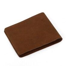 все цены на Luxury Wallet 100% Genuine Leather Men Wallet Male Credit Card Case RFID Blocking Bank ID Card Holder High Quality Porte Carte