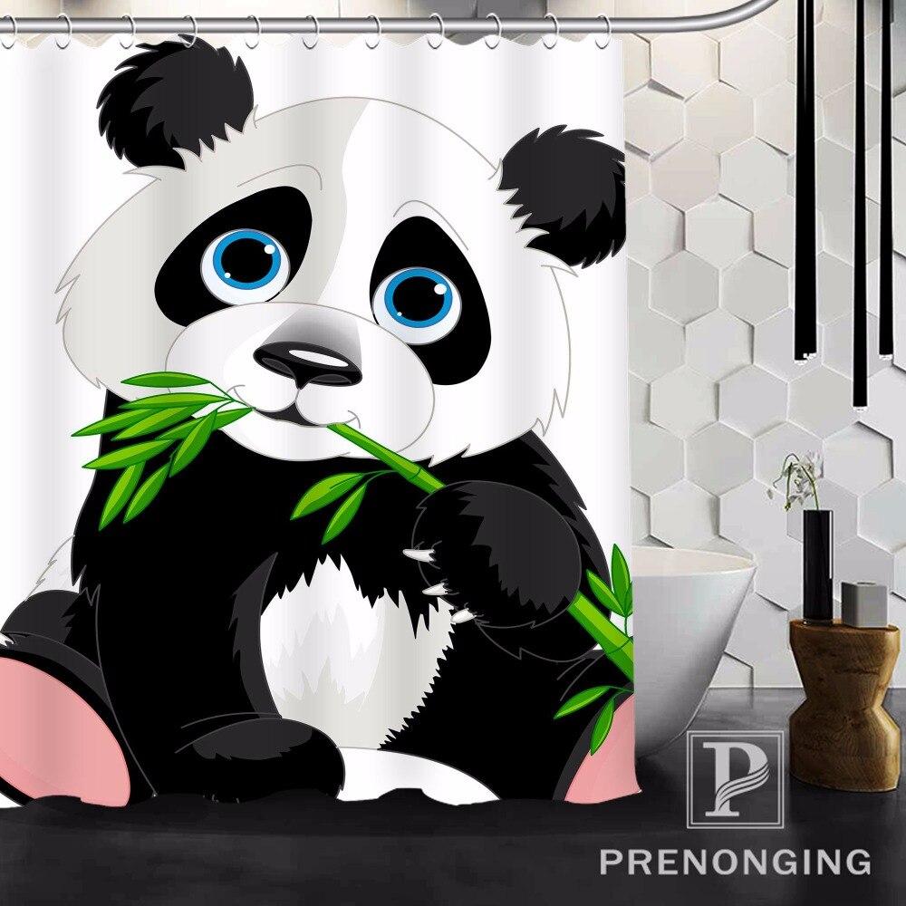 Cartoon Panda Shower Curtain Fabric Waterproof Mildewproof Modern Bath  Bathroom Curtain @17 Multi Size S 171216*10 17 In Shower Curtains From Home  U0026 Garden ...
