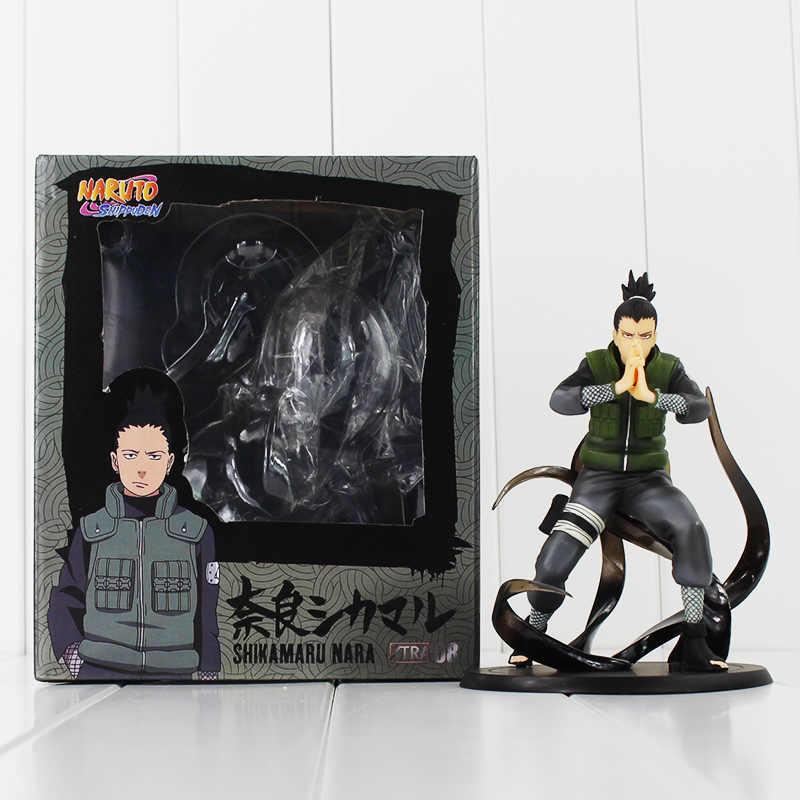 Nowy gorący 15 cm Naruto Nara Shikamaru figurka zabawki prezent na Boże Narodzenie lalki