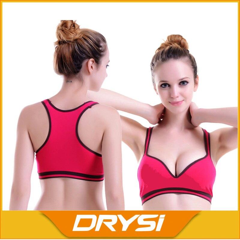 Women firm body shaper sport bra slimming seamless ...