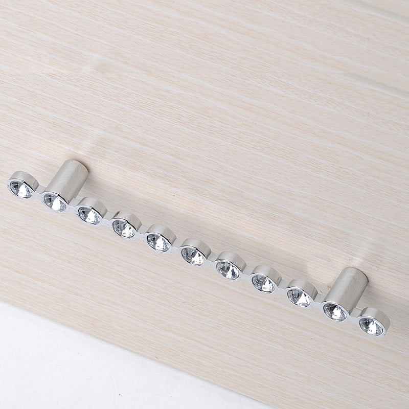 2pcs Crystal Cabinet Knob Pull Handle Drawer Cupboard Door Wardrobe crystal glass handle furniture handles high grade crystal handles wardrobe door cabinet knobs drawer cabinet knob furniture hardware small pull and handle