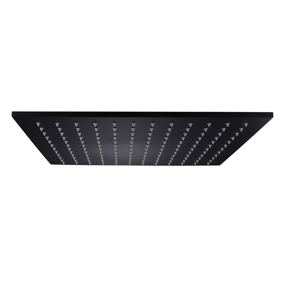 Оптовая продажа высокое качество вентиль аксессуары для ванной комнаты 16 дюймов осадков квадратный SUS304 нержавеющая сталь насадки для душа