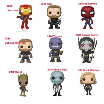 Avengers 3 Thanos Thor Hulkbuster hierro hombre araña Capitán ...