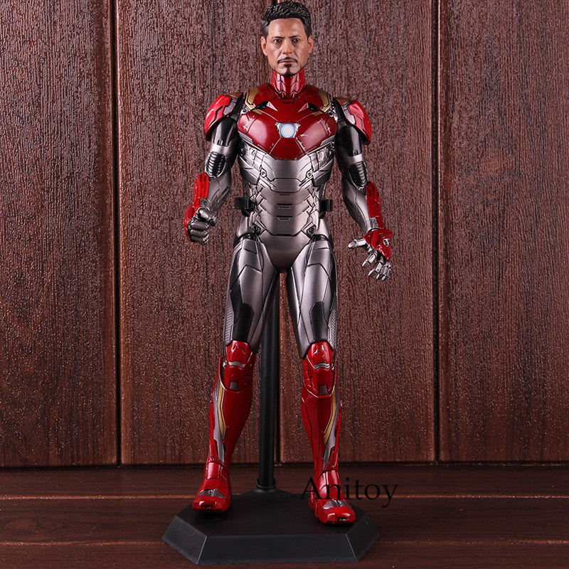 ONE:6 Crazy Toys Action Figure Iron Man Mark XLVII Mark 47 1/6 TH Scale Collectible Model ToyONE:6 Crazy Toys Action Figure Iron Man Mark XLVII Mark 47 1/6 TH Scale Collectible Model Toy