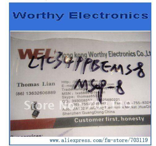 10 шт./лот LTC3499BEMS8 LTC3499BEMS8# PBF LTC3499 MSOP8 Линейный