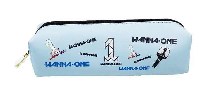 KPOP BLACKPINK WANNA ONE GOT7 17 cartera estuche de lápices nuevo álbum lienzo caja de papelería alrededor de venta al por mayor nuevo