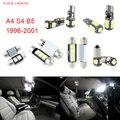 13 unids LED Canbus Luces Interiores Paquete Kit Para Audi A4 S4 B5 (1996-2001)