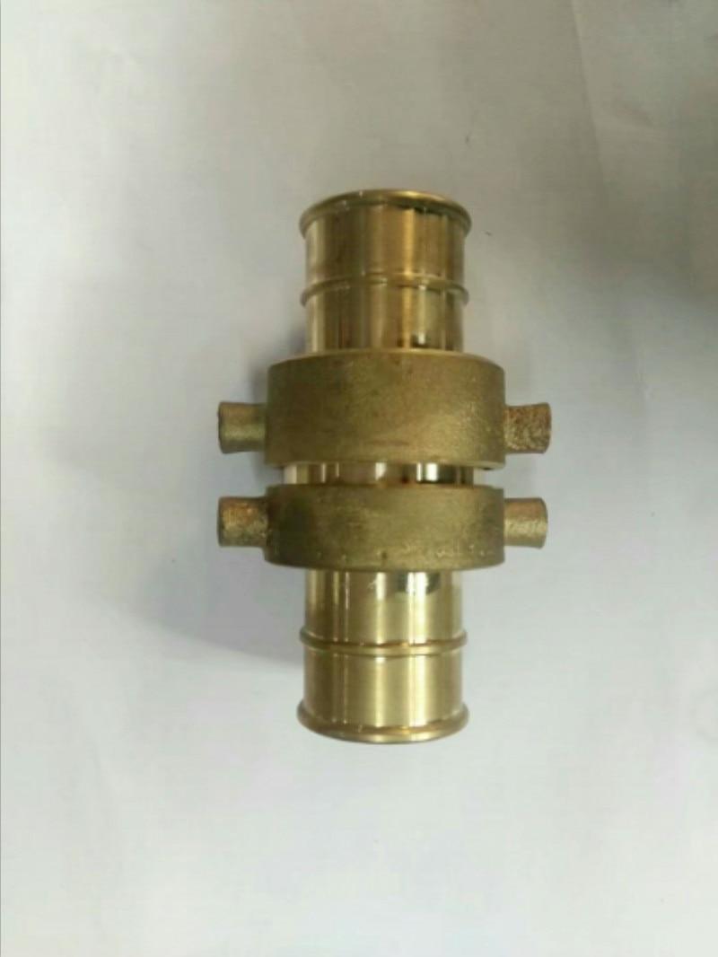 Fire Hose brass adapter Quick Connector NPT thread DN40 DN50 DN65