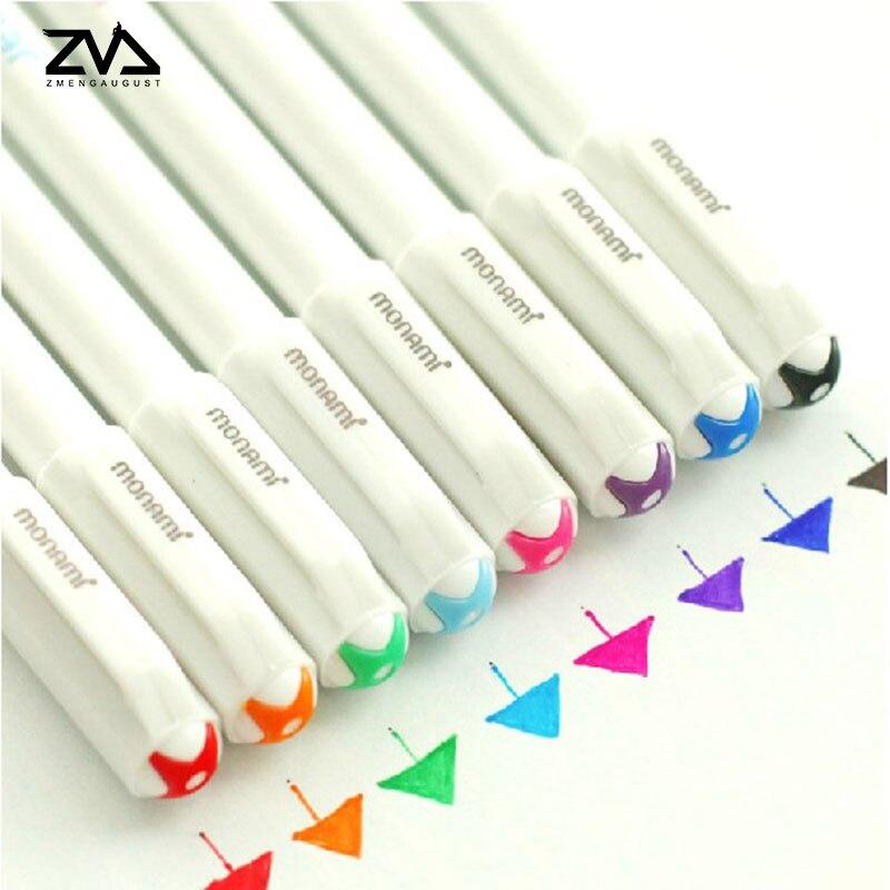 8pcs/lot Colored neutral pen Graffiti pens markers pen s