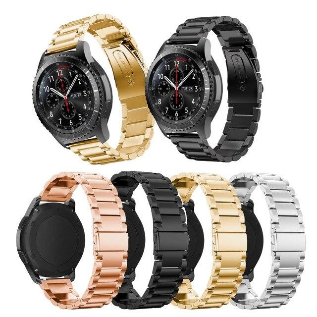 Per Samsung Watch Band, In Acciaio Inox Metallo Cinturino Di Ricambio Fascia Di
