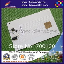 4PCS/Lot Toner Cartridge Reset Chip Card for Philips MFD 6020W 6050W 6080 6020 6