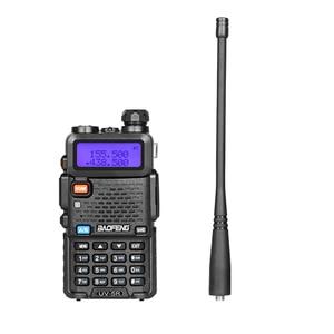 Image 4 - BAOFENG UV 5R ווקי טוקי VHF UHF Dual Band כף יד שתי דרך רדיו pofung uv5r מכשיר קשר רדיו 5R תקשורת ציוד