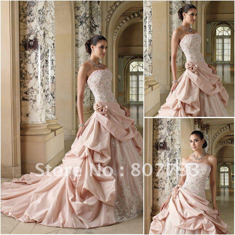 Wedding dress white poofy skirt