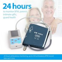 ABPM50 24 Hours Ambulatory Monitor NIBP Fitbit Force Automatic Arm Ambulatory Blood Pressure digital medical meter health holter