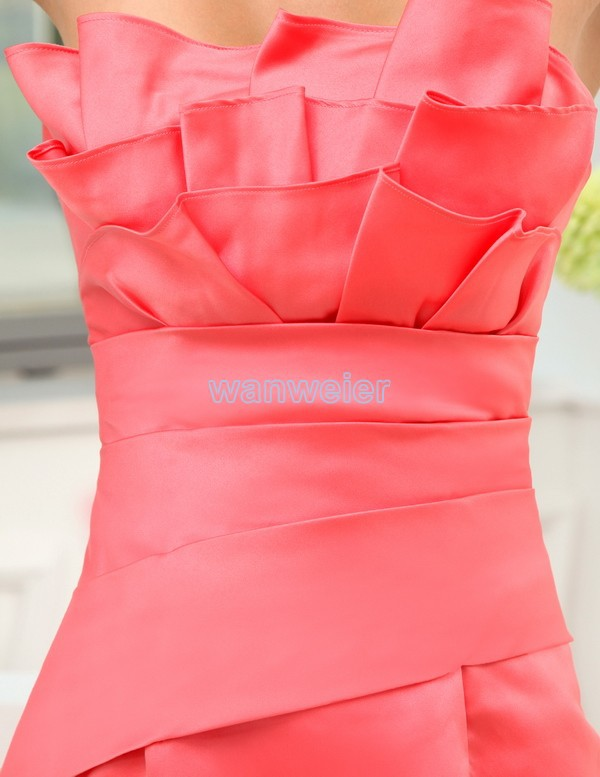 free shipping 2016 short mini vestidos formales brides maid dress formal sexy dress red plus size formal Bridesmaid Dresses