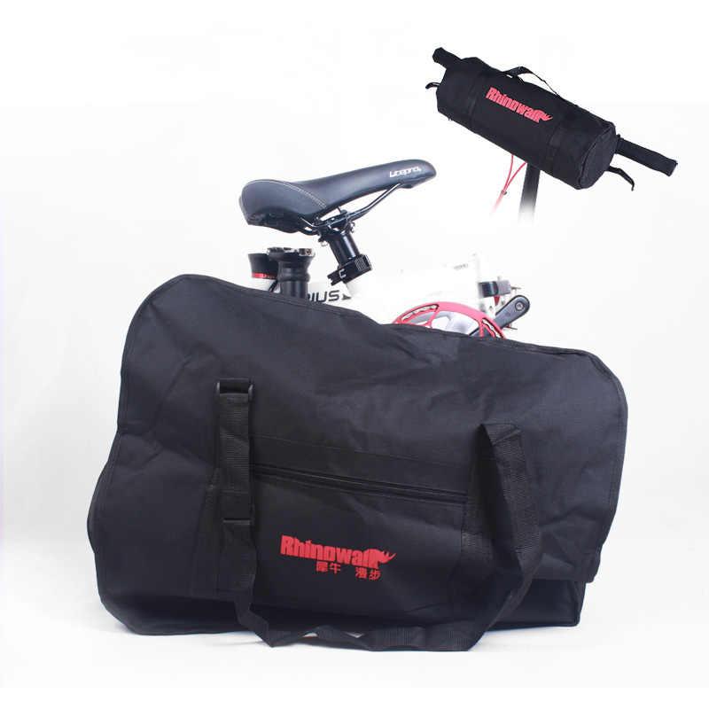 Велосипед сумки складной велосипед Портативный сумка для хранения для 14/16/20 дюймов Brompton Da-Хон 412 складной велосипед рюкзак защита от пыли Cove