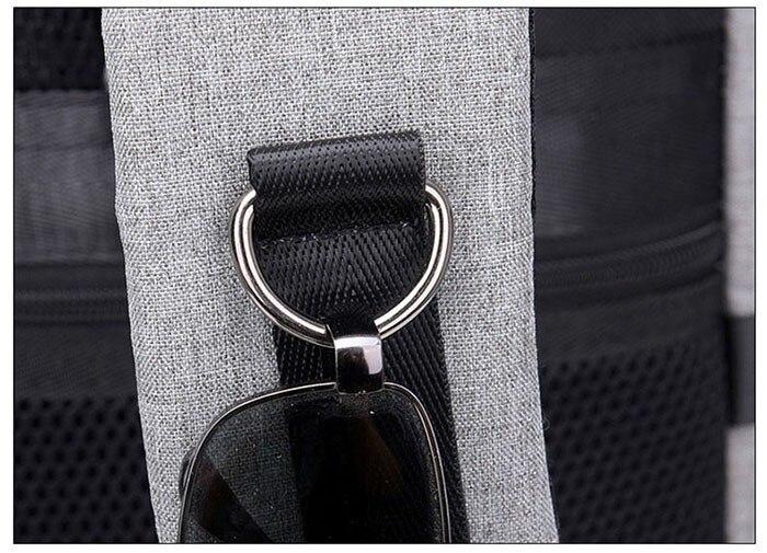 Snugng usb anti-roubo ginásio mochila sacos de