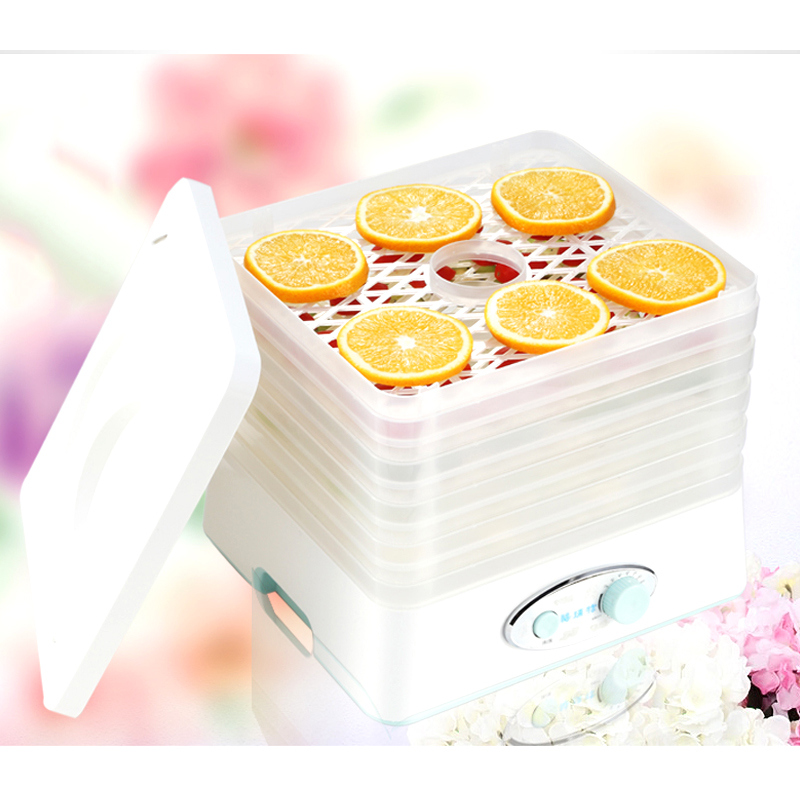 5 Layers Household Fruits and Vegetables Dehydration Food Dryer 8 Independent Temperature Adjustments Dried Fruit Machine 220V household fruits vegetables herbs and pet snacks automatic timed mini dehydration air dried machine 4 floors