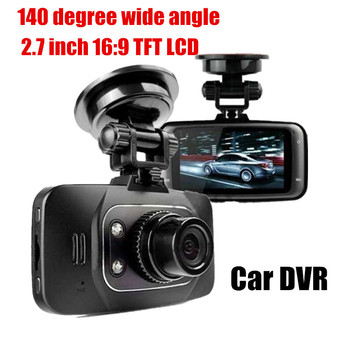 140 degree wide angle 2.7 inch Car DVR Vehicle Camera Video Recorder car camcorder G-sensor image