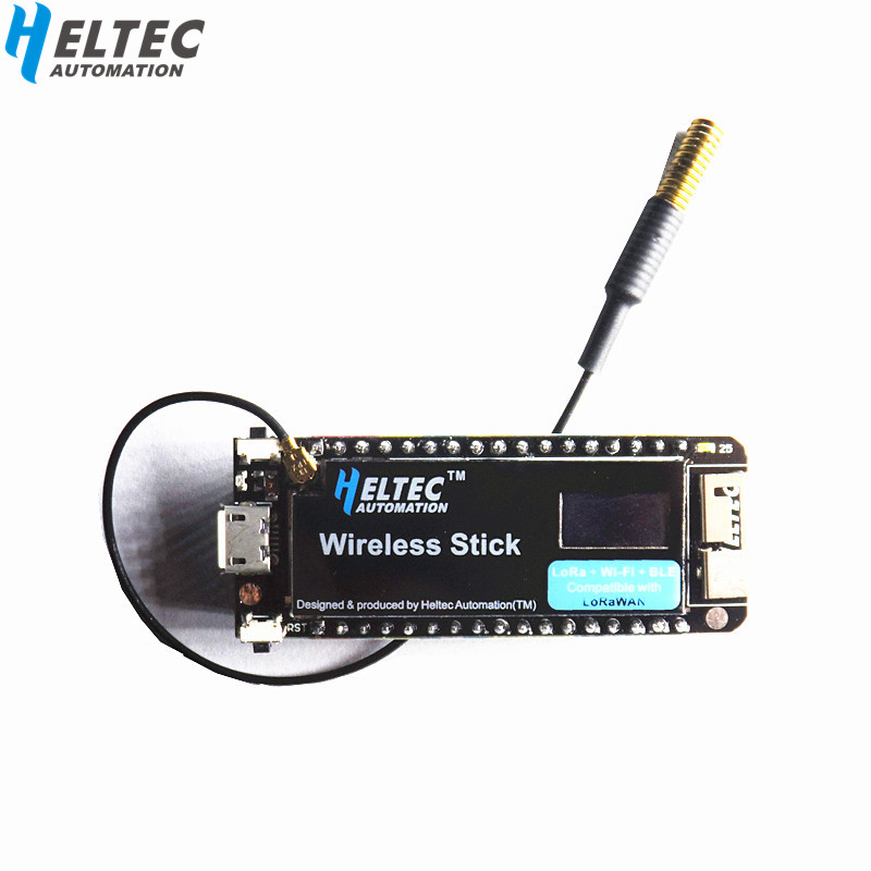 Heltec Wireless stick upgrade esp32 lora/wifi lora  Development Board with 0.49inch oled display 433HMZ/868MHZ/915MHZHeltec Wireless stick upgrade esp32 lora/wifi lora  Development Board with 0.49inch oled display 433HMZ/868MHZ/915MHZ