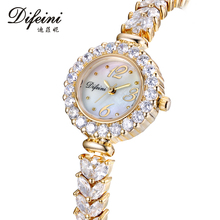 Difeini Top Brand Creative Women Watches Business Quartz Wrist Watches Fashion dress Ladies watch women relogio feminino