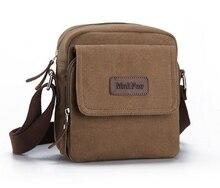 2016 Vintage Canvas Men's Crossbody Bag over Shoulder Messenger Bags Handbag Leisure Outdoor Travel Sport Hiking Zipper Bags