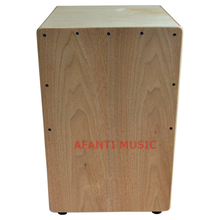 Afanti Music Catalpa Wood Natural Cajon Drum KHG 184