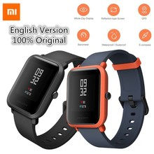 xiaomi smartwatch Huami Amazfit Smart Watch Bip Bit Face GPS Fitness Tacker Heart Rate IP68 Waterproof support Drop Shipping