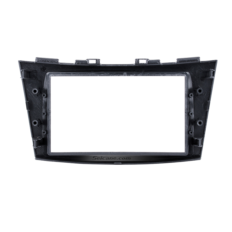 Seicane Car Radio DVD CD Fascia Frame Pane for 2012-2016 Suzuki Swift Autostereo Double Din Panel Kit Fitting Frame DVD Player