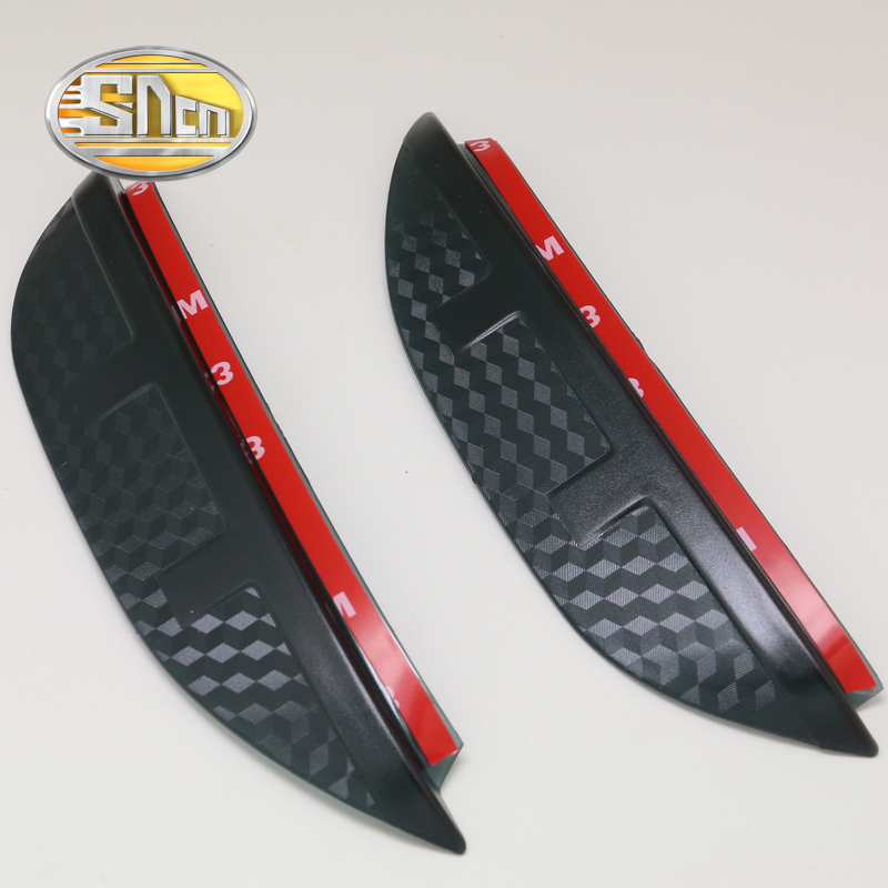 SNCN 2PCS Car Rearview Mirror Eyebrow Cover Rain-proof Snow Protection Decoration Accessories For Toyota C-HR CHR 2016 2017 sncn 2pcs car rearview mirror eyebrow cover rain proof snow protection decoration accessories for toyota c hr chr 2016 2017