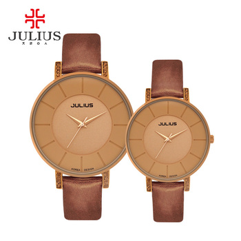 JULIUS Brand Luxury Women Watches 2017 Ladies Girl Wristwatch Fashion Casual Quartz Watch Relogio Feminino Female Colore Watches shifenmei watches women luxury brand waterproof fashion watches quartz watch woman leather wristwatch for girl relogio feminino