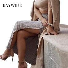 Kaywide 2017 Для женщин весна юбка серии модные, пикантные новые летние Стиль Slim Fit Maxi Длинные Юбки для женщин для Для женщин B16106