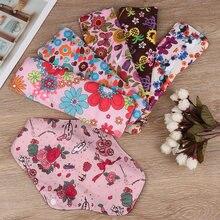 Женские Многоразовые водонепроницаемые подушечки для мам с цветочным