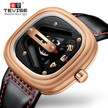 Tevise Top Brand Men Automatic Mechanical Watches