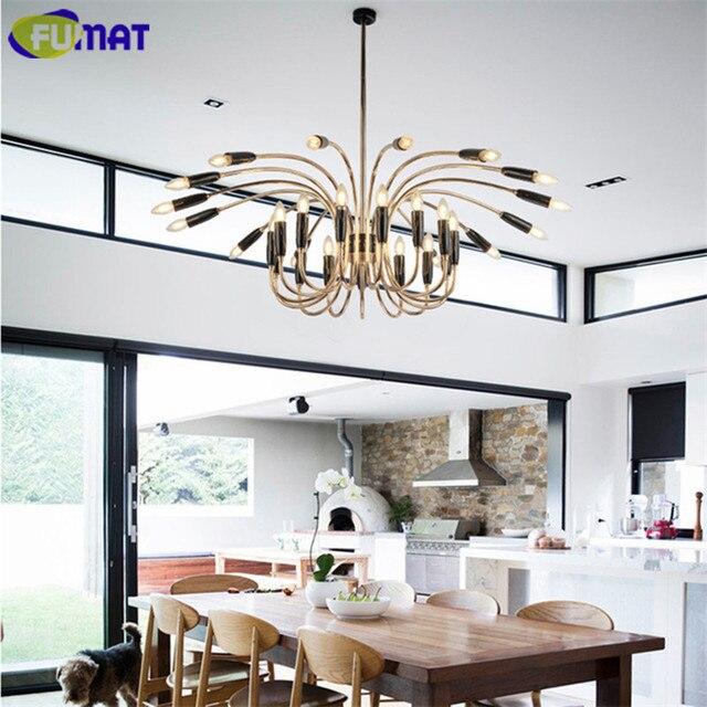 US $452.2 15% di SCONTO|FUMAT Moderna Lampadari Apparecchio di  Illuminazione Art Deco Lampada Camera Da Letto Living Room Dinning Room  Sospensione ...