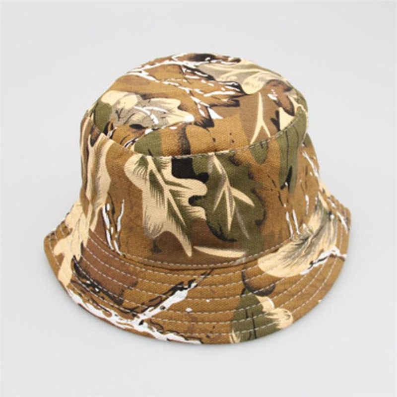 24M-6 AÑOS NIÑOS bebé sombrero niño recién nacido niños niñas patrón Floral cubo sombreros al aire libre casco gorra # SS