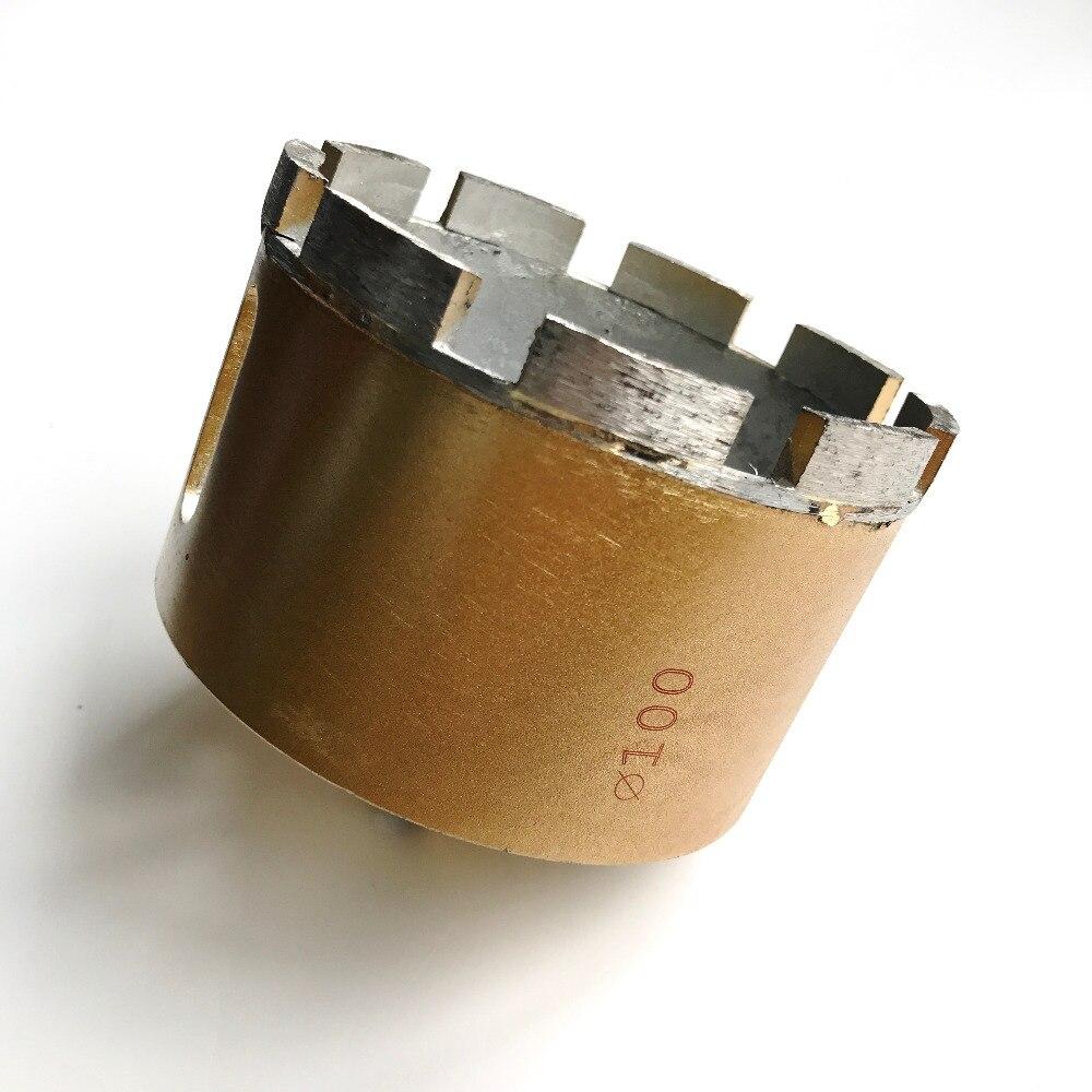 1 pc marbre scie 100*13mm trépan diamanté foret pour le marbre/granit/brique/carrelage/ en céramique/béton forage professionnel