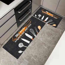 Креативный длинный коврик для кухни коврик для ванной половик с рисунком Впитывающий Коврик для спальни гостиной современный коврик на кухню
