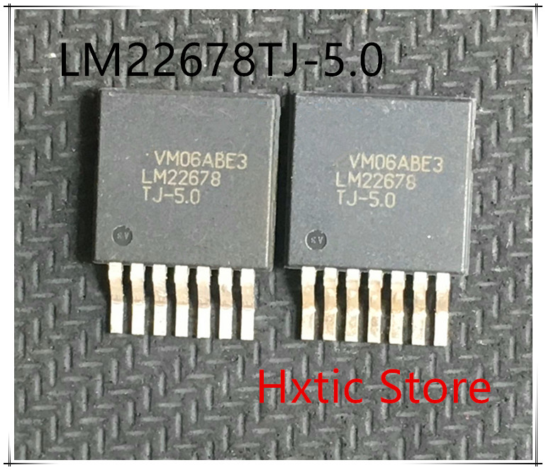 NEW 10PCS LOT LM22678TJ 5 0 LM22678TJ LM22678 5V TO 263 IC
